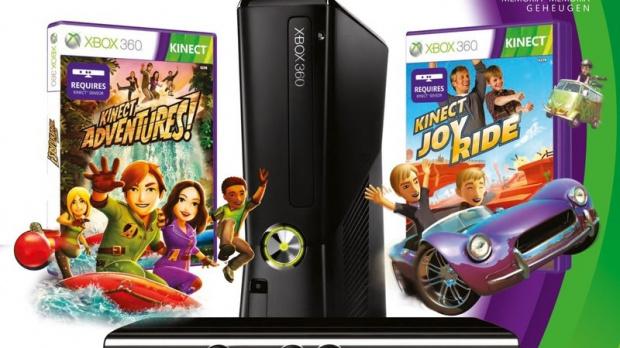 Un nouveau bundle Xbox 360 Kinect + 2 jeux !