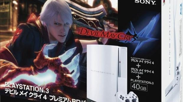 Un pack PS3/DMC 4 au Japon
