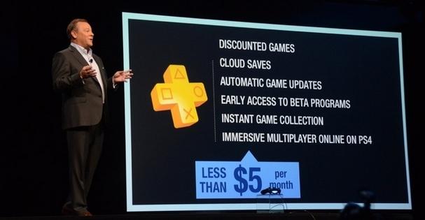 E3 2013 : Le online de la PS4 sera payant !
