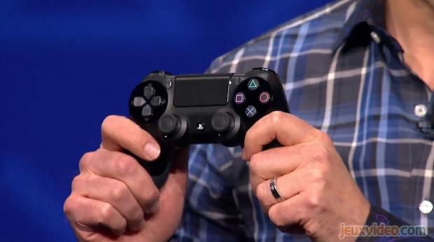 Le pad de la PS4