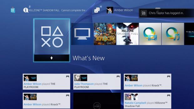 Une mise à jour pour la PS4