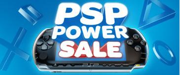 Les offres spéciales du PSN : PSP Power Sale
