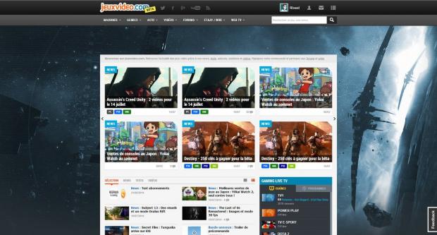 Toutes les infos sur le nouveau jeuxvideo.com, revivez notre direct