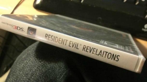 Une jaquette collector pour Resident Evil : Revelations