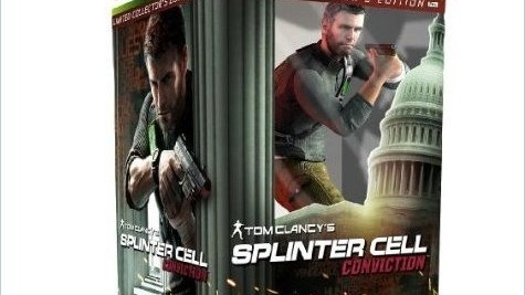 Des visuels pour le Collector de Splinter Cell Conviction