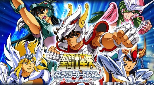 Saint Seiya sur iPhone et Android