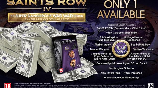 Saints Row IV : L'édition à un million de dollars