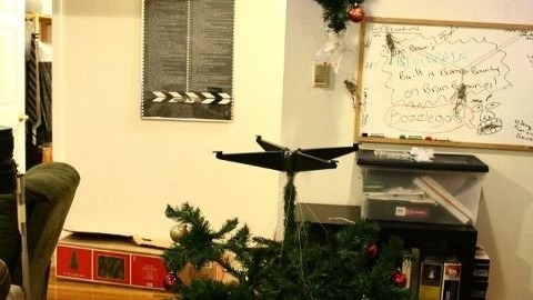 Le sapin de Noël de Portal