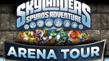 Une tournée européenne pour Skylanders