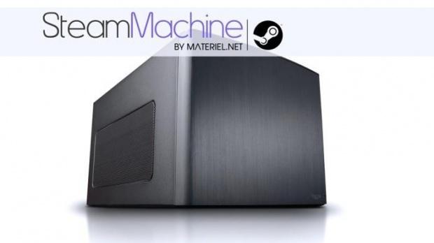 Materiel.net détaille sa Steam Machine