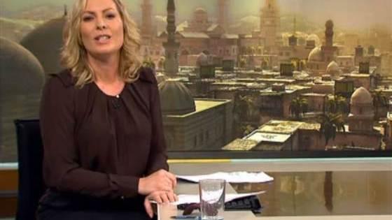 Une image d'Assassin's Creed dans un journal télévisé danois