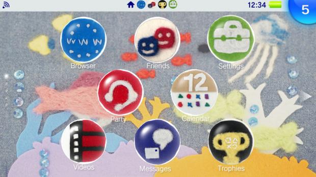 La PlayStation Vita accueille les thèmes