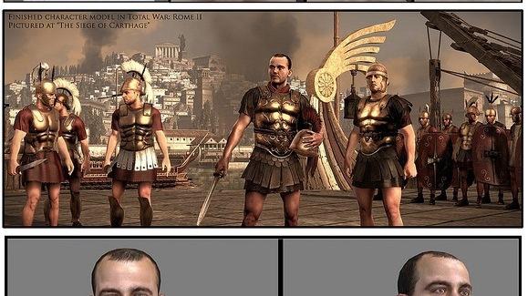 Un fan de Total War modélisé après son décès