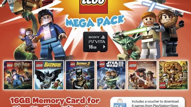 Des packs LEGO pour la PS Vita