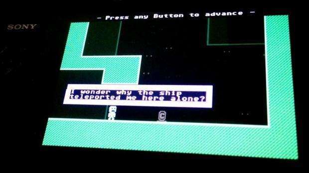 Un portage de VVVVVV sur PS Vita ?