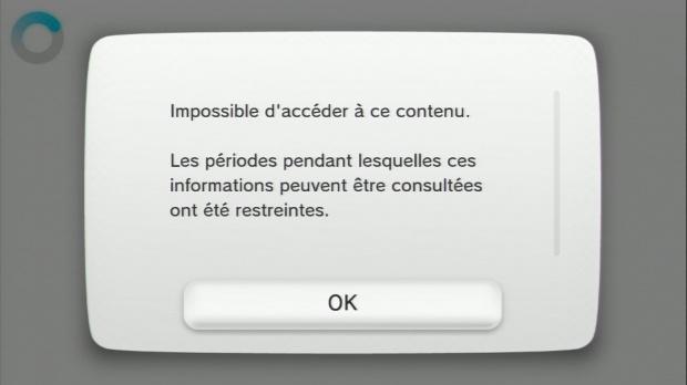 Wii U : Le téléchargement des 18+ impossible avant 23h