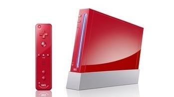 Une Wii rouge dédiée à Mario