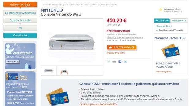 La Wii U à 450 euros et les jeux à 50 euros ?