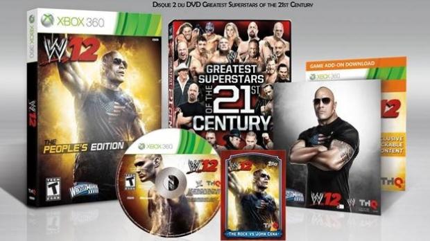 Une édition The Rock pour WWE 12