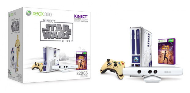 Un pack Xbox 360/Kinect Star Wars
