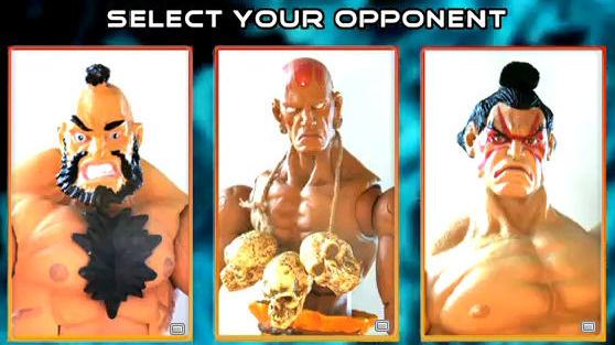 Jouez à Street Fighter sur Youtube