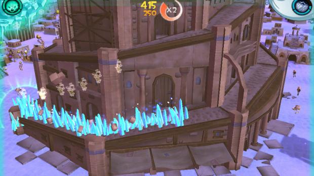 Babel Rising 3D se met à jour sur iOS