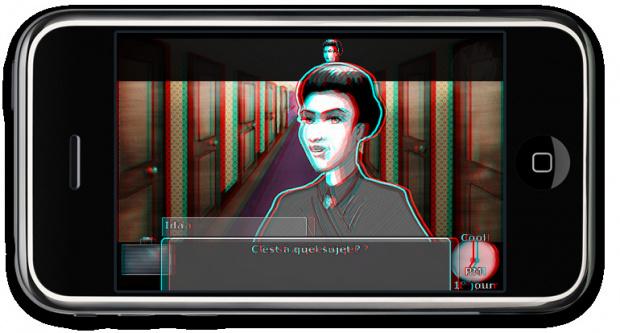 Le Manoir de Mortevielle iPhone en relief !