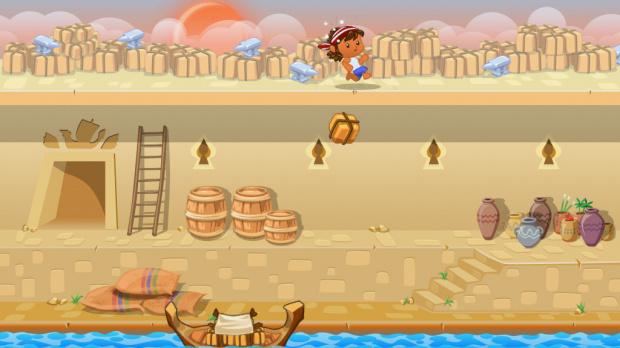 Les mini-jeux de PyramidVille Adventure