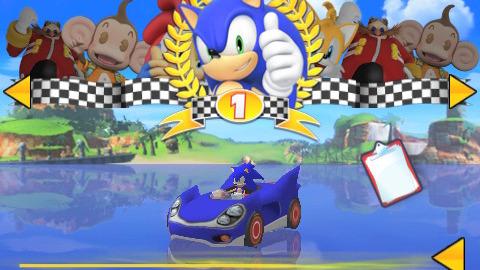 Sonic & Sega All-Stars Racing sur iPhone