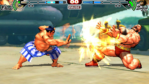 Viper et Honda arrivent dans Street Fighter IV sur iPhone