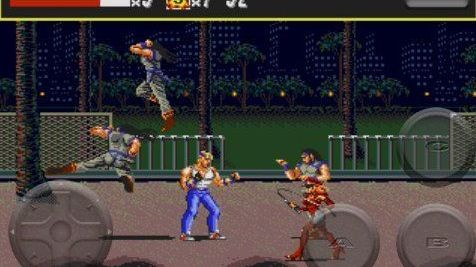 Streets of Rage sur iPhone
