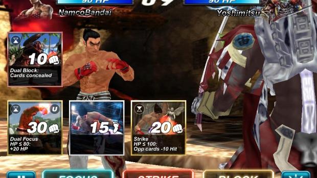 Un nouveau mode Campagne pour Tekken Card Tournament