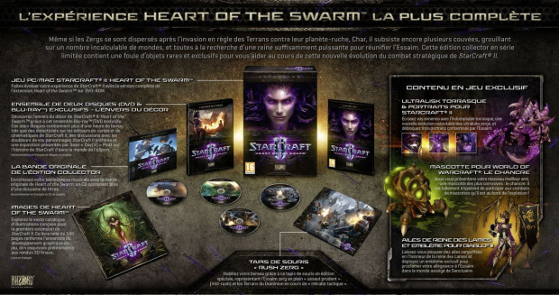 Une édition collector pour Starcraft II : Heart of the Swarm