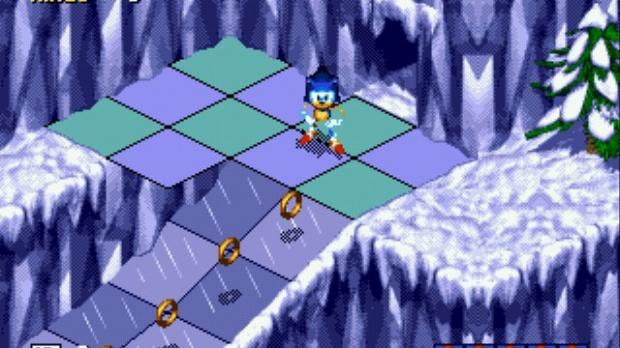 Oldies : Sonic 3D : Flickies' Island