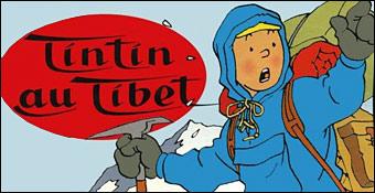 tintin au tibet dessin animé