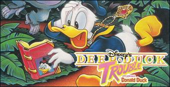 Deep Duck Trouble starring Donald Duck