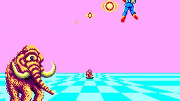 Space Harrier en 3D sur 3DS