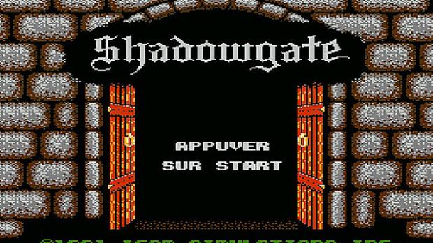 Oldies : Shadowgate