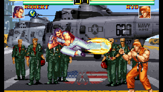 Art Of Fighting Anthology en Europe