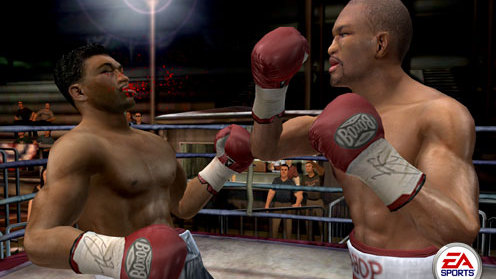 Super Punch Out dans Fight Night 2