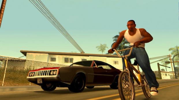 Rockstar, GTA San Andreas et le mannequin hip hop.
