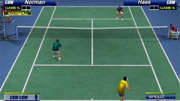 Encore du tennis sur PS2