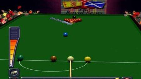 De nouveau du Snooker sur PS2