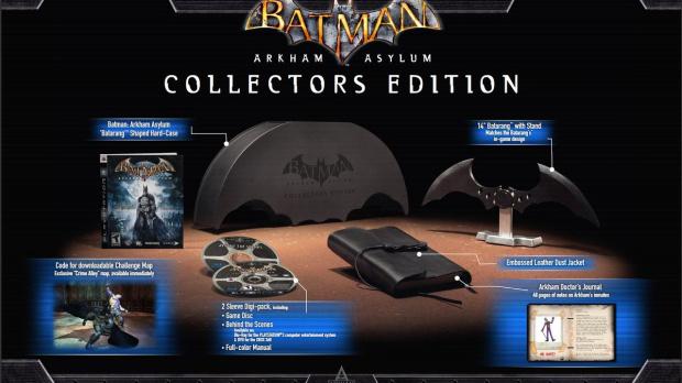 Batman Arkham Asylum en édition collector aux US