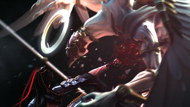 Un Devil May Cry like nommé Bayonetta