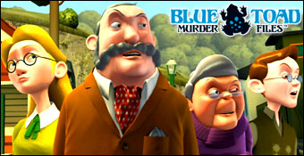 Blue Toad Murder Files : The Mysteries of Little Riddle