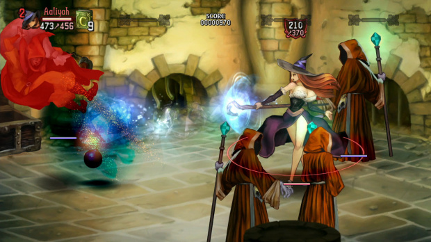 Images de Dragon's Crown : La Sorcière prend les devants