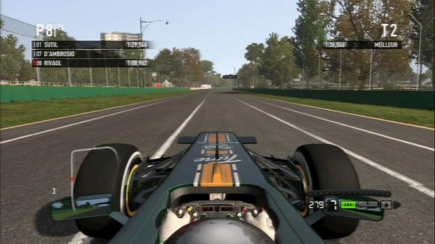 Annonce de F1 2012