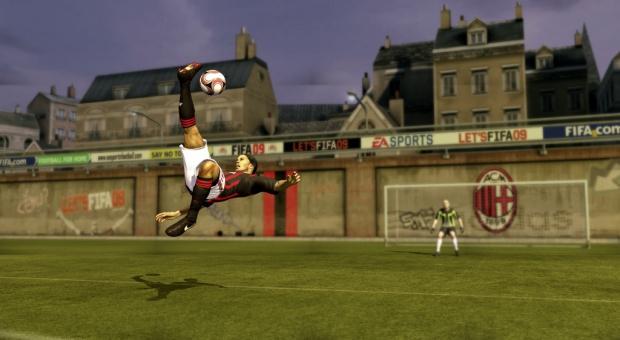 Démo de FIFA 09 : souci technique PS3