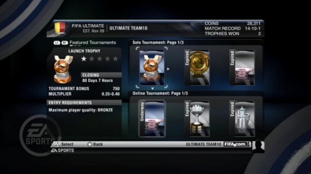 Image de FIFA 10 : Ultimate Team